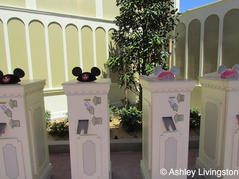 FastPass machines