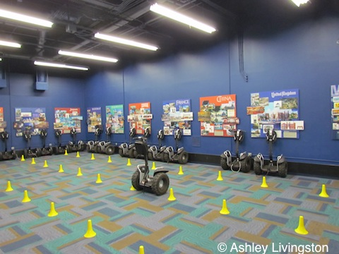 Segway training area