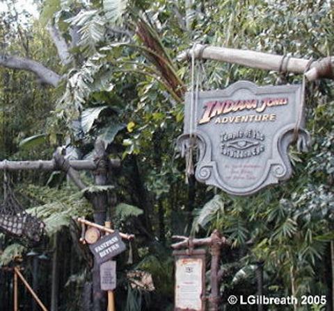 Indiana Jones Sign