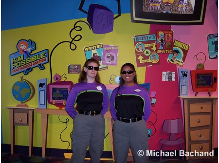 Kim Possible Adventure Epcot
