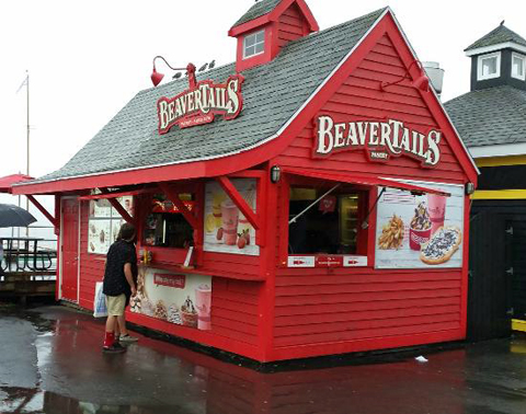BeaverTail Mobile Kiosk