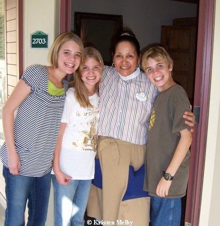 Georgina Housekeeper Port Orleans