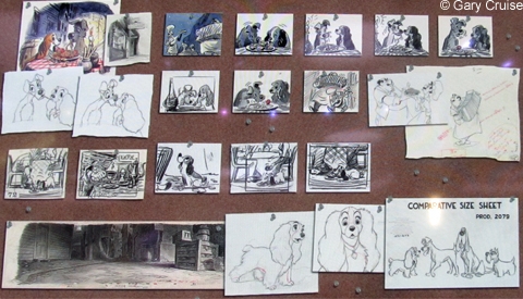 Lady and the Tramp Storyboard