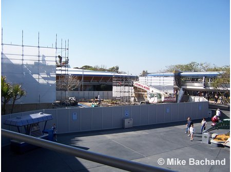 Tomorrowland Stage Construction Stitch Stage Show Construction