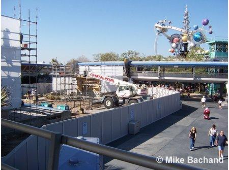 Stitch Stage Show Construction Magic Kingdom