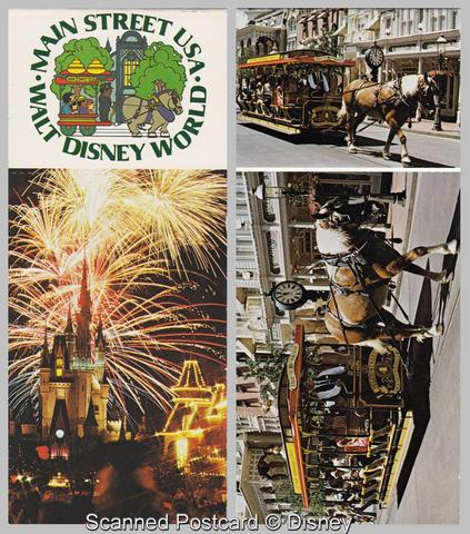 Main Street Postcard Booklet