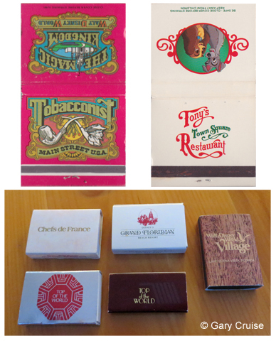 Match Boxes and books