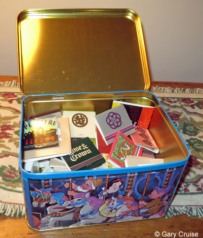 Match Book Tin