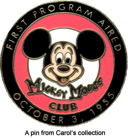 Mickey Mouse Club Pin