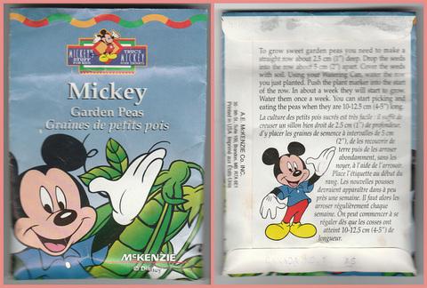 Mickey Peas