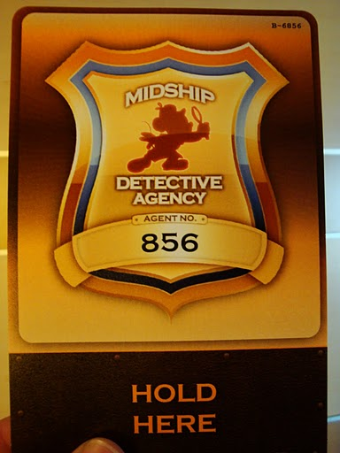 Midship Detective Agency Badge