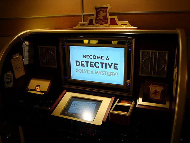Midship Detective Agency Desk