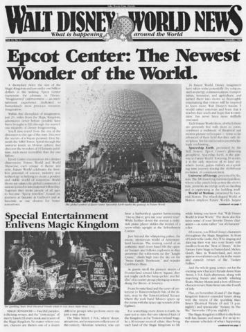November 1982 Front Page