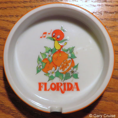 Orange Bird Ash Tray