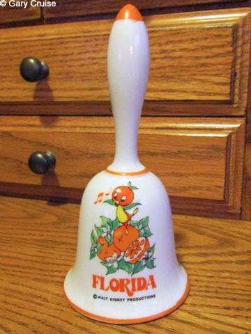 Orange Bird Bell