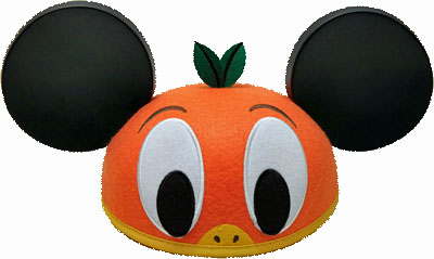 Orange Bird Hat