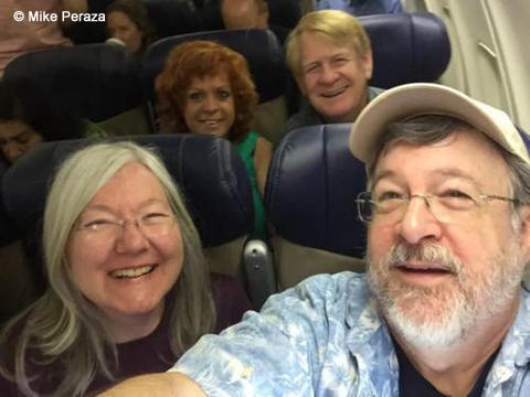 Peraza's Mile-High Selfie