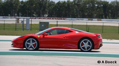 Richard Petty Track Ferrari