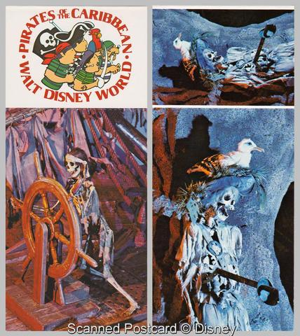 Pirates Postcard Booklet