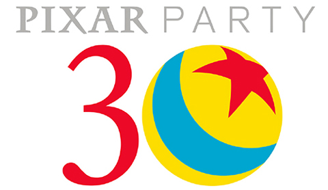 Pixar Party Logo