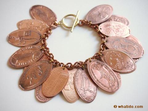 Pressed Penny Bracelet