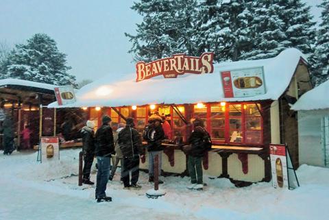 Rideau Canal BeaverTail Kiosk