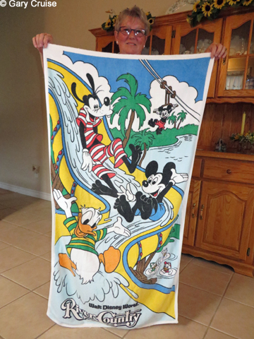 River Country towel