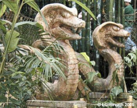 Serpent Statues