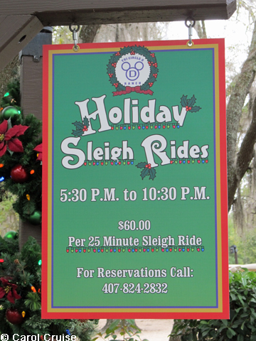 Sleigh Ride Sign