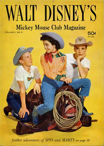 Spin and Marty magazine cover