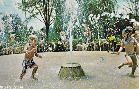 Splash Pad postcard