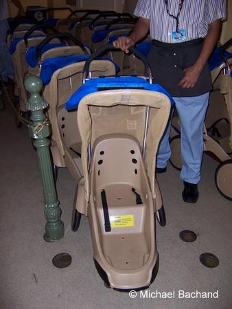 New Single Stroller
