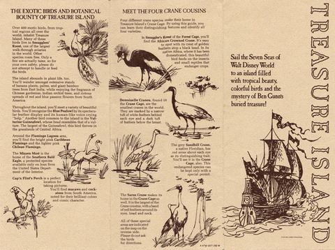 1977 Treasure Island Brochure outside