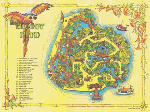 1979 Discovery Island Brochure inside