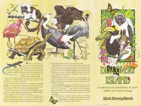 1979 Discovery Island Brochure outside