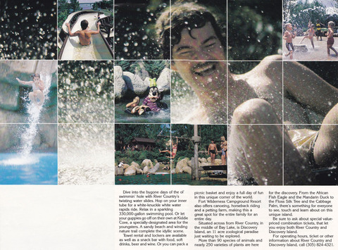 1987 River Country Brochure inside