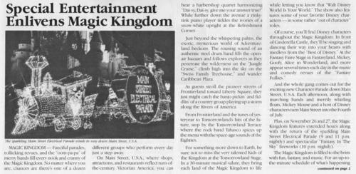 November 1982 Magic Kingdom Entertainment