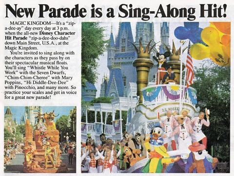 Sing Along Parade