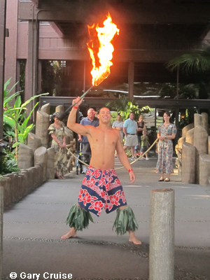 Polynesian Torch Lighting