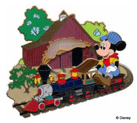Walt's Train Pin