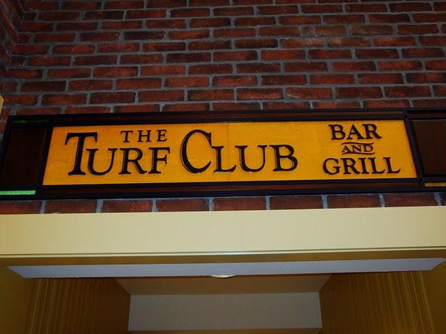 Turf Club Signage