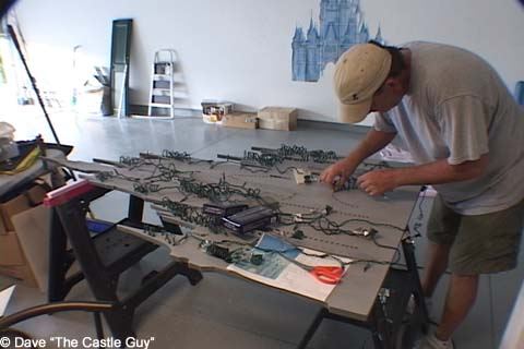 Wiring up the castle