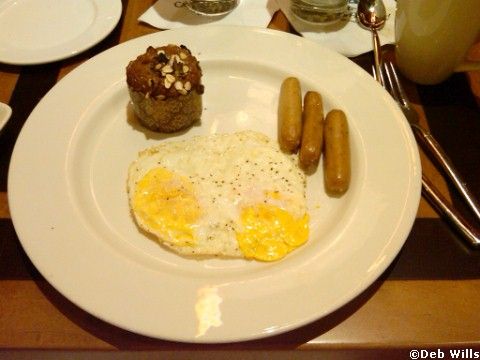 Breakfast Multigrain Muffin - The Wave Restaurant - Contemporary Resort