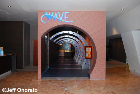 The Wave Entrance - Contemporary Resort