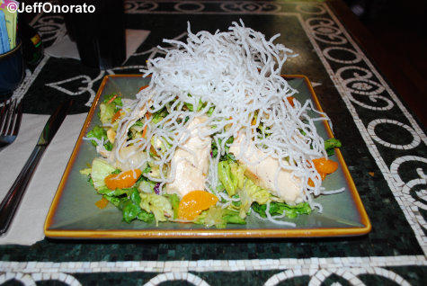 Yak and Yeti Mandarin Chicken Salad