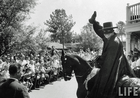 Zorro at Frontierland 1958