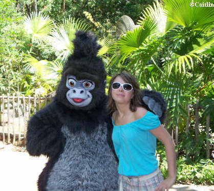 Caitlin and Turk at Animal Kingdom