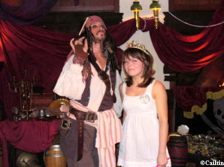 Caitlin and Jack Sparrow