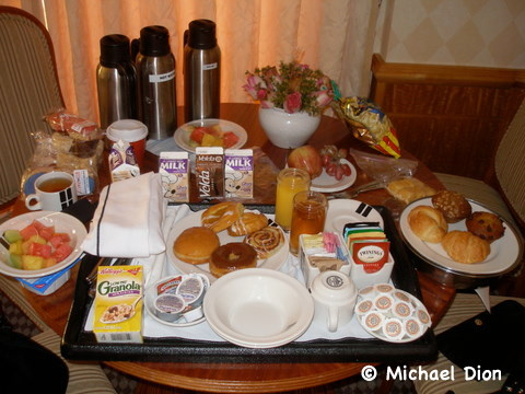 Disney Wonder Category 3 Cabin #8032 Debarkation Morning Breakfast