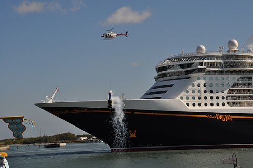 Disney Cruise Line S Dream And Fantasy A Tale Of Two Christenings Allears Net